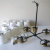 1950s Ceiling Light by Lunel 4