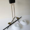 1950s Ceiling Light by Lunel France 1