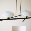 1950s Ceiling Light by Lunel France 2