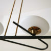 1950s Ceiling Light by Lunel France 3