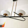 1950s Ceiling Light by Lunel France 4