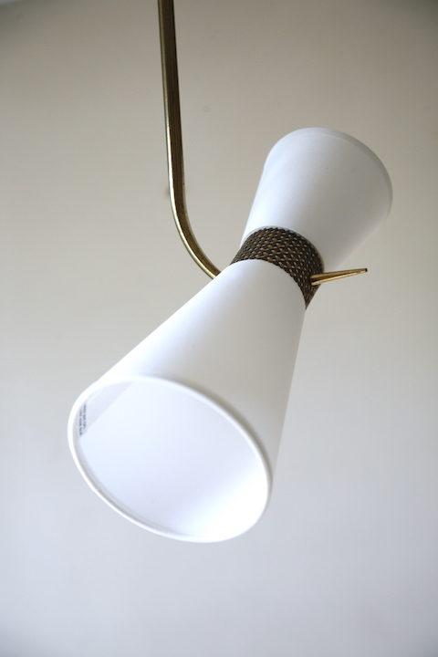 1950s Double Ceiling Light 4