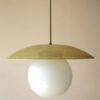 1950s French Ceiling Light