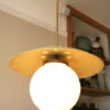 1950s French Ceiling Light 6