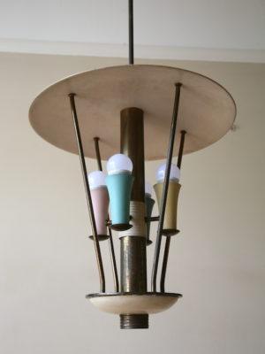 1950s Italian Ceiling Light 4