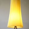 1950s Tripod Floor Lamp with Pleated Shade 3