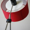 1960s Red Floor Lamp 1