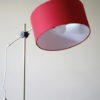 1960s Red Floor Lamp