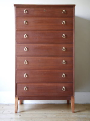 1960s Teak Chest of Drawers