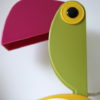 1960s Toucan Table Lamp by Old Timer Ferrari Italy 3