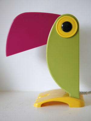 1960s Toucan Table Lamp by Old Timer Ferrari Italy