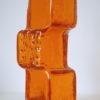 'Drunken Bricklayer' Vase by Geoffrey Baxter for Whitefriars 1