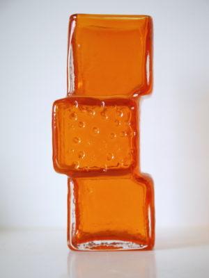 'Drunken Bricklayer' Vase by Geoffrey Baxter for Whitefriars