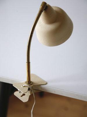 1950s Cream Clip-on Lamp 3