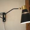 1950s French Articulating Wall Light 4