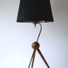 1950s French Brass Tripod Table : Floor Lamp 4