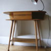 1950s Oak Console Table 2