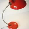 1950s Vintage Orange Bakelite Table Lamp from Helion Arnstadt
