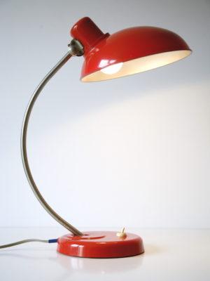 1950s Vintage Orange Bakelite Table Lamp from Helion Arnstadt 2