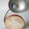1950s Vintage Orange Bakelite Table Lamp from Helion Arnstadt 5