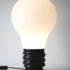 1970s Lightbulb Table Lamp
