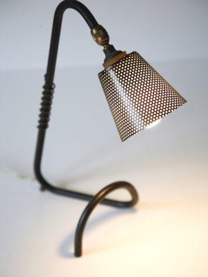 Black 1950s Desk Lamp