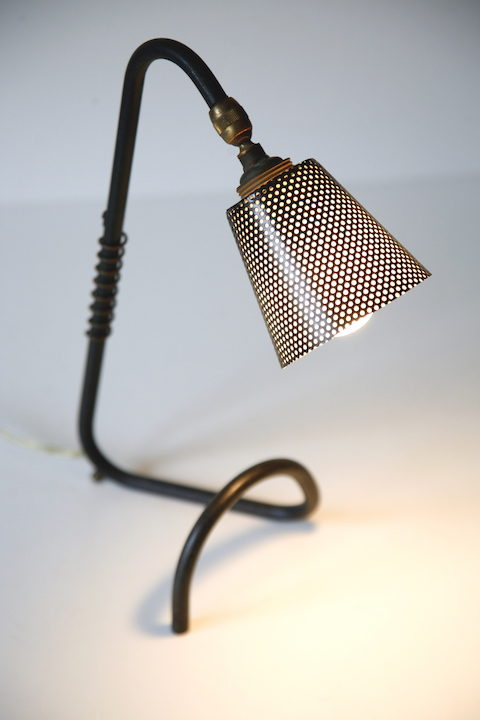 Black 1950s Desk Lamp