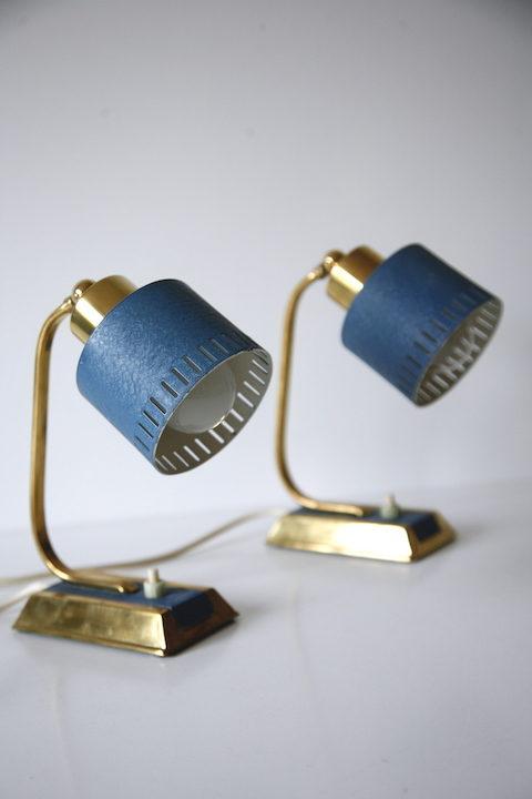 Pair of 1950s Desk Lamps 5