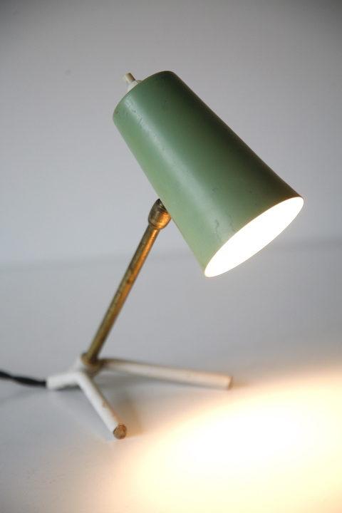 Small 1950s Italian Desk Lamp
