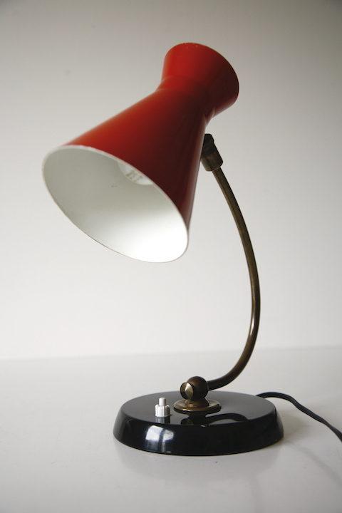 Vintage 1950s French Desk Lamp 2