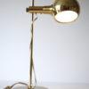 Vintage 1970s Gold Desk Lamp