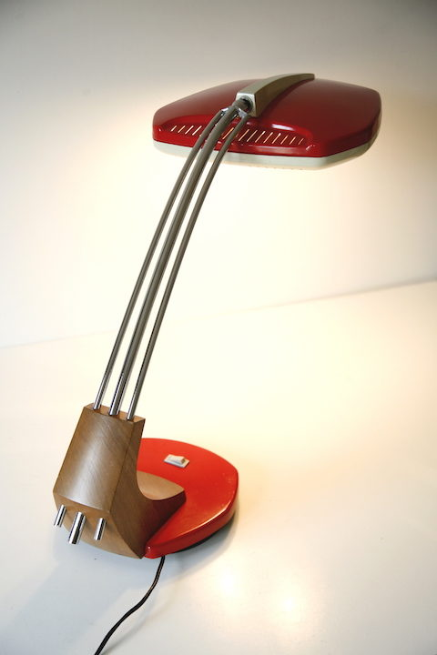 Vintage 'Falux' Desk Lamp by Fase 5