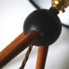 Vintage Teak Tripod Lamp 4
