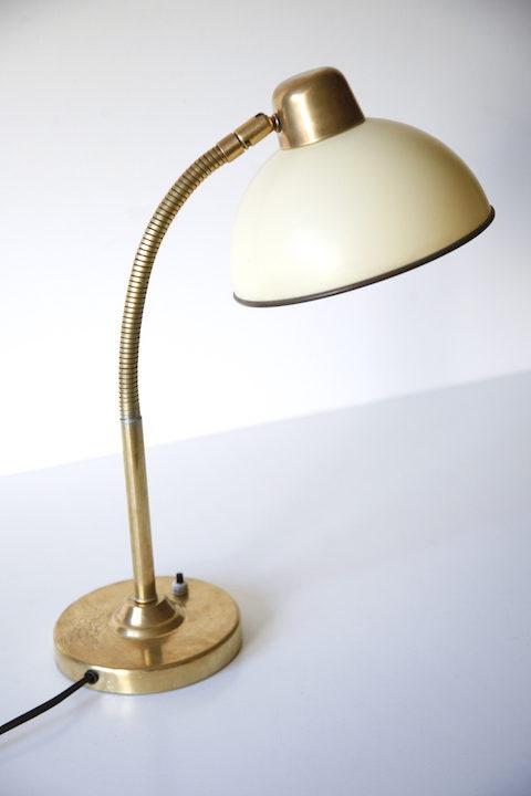 1950s Brass Desk Lamp 2