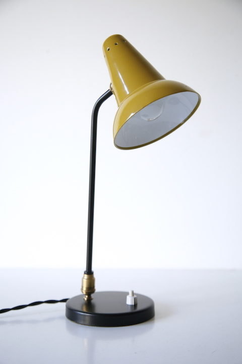 1950s French Desk Lamp