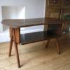 1950s Oak Coffee Table 1