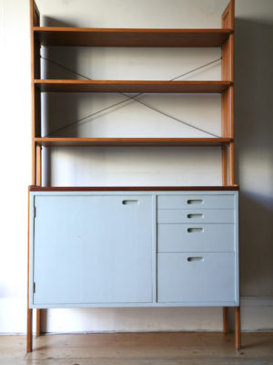 1960s Swedish Shelving Unit 6