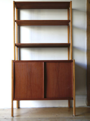 1960s Swedish Shelving Unit by B Fridhagen for Bodafors 6