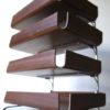 1960s Teak Desk Trays 4