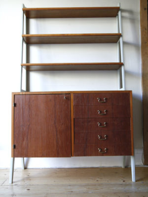 1960s Teak Swedish Shelving Unit