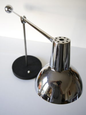1970s Chrome Counter Balance Desk Lamp 1