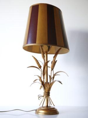 1970s Italian Wheatsheaf Table Lamp