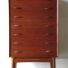 Large 1960s Danish Teak Chest of Drawers 1