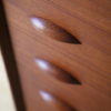 Large 1960s Danish Teak Chest of Drawers 2