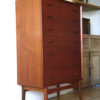 Large 1960s Danish Teak Chest of Drawers 4