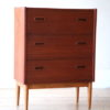 Small Danish 1960s Chest of Drawers 4