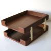 Vintage Teak Filing Trays