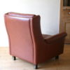 1960s Leather Chair by AB Nili Stoppmöbler Sweden 4