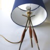 Pair 1960s Tripod Table Lamps 5