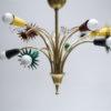 1950s Brass French Chandelier 3